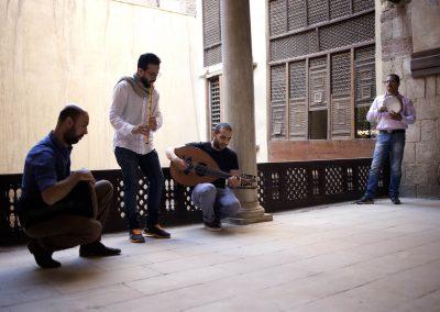 """Les musiciens du projet """"Karkadé"""" en live"""